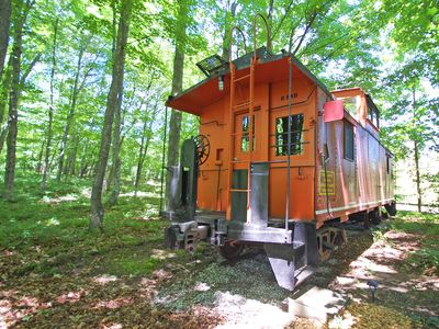 Photo for Historic, Restored Caboose at the Base of the Sleeping Bear Dunes! Acc: 2