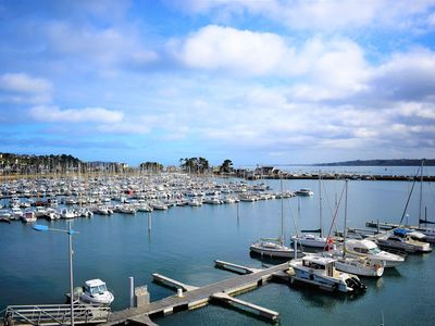 Photo for Beautiful apartment VERY BEAUTIFUL SEA VIEW in PERROS-GUIREC