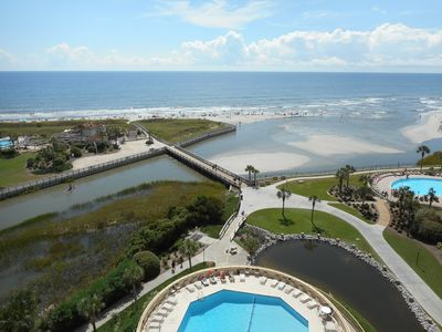 Photo for Spectacular Views! Oceanfront! 3BR/3BA! Recently Renovated! Beach Locker/Chairs!