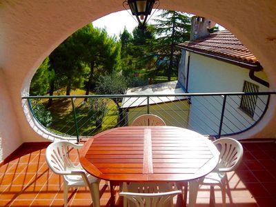 Photo for N83 - Numana, three-room apartment with panoramic terrace