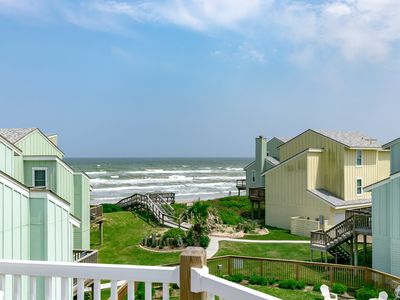 "Photo for Under New Ownership as of 2019: ""Salty Shamrock"" Beachfront Condo w/ Pool"