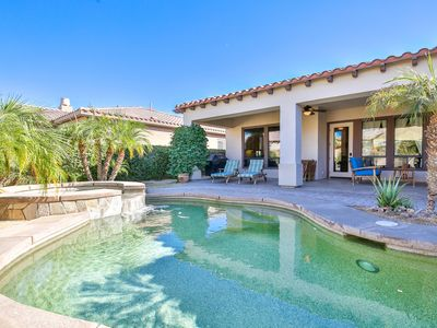 Photo for Palm Desert Via Venezia Gated-4BR/ 4BA +1BR/1BA Casita Pool/ spa