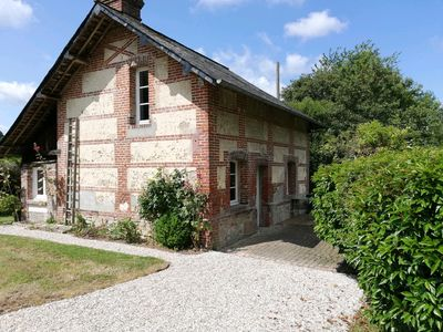 Photo for 15 minutes from Deauville-Trouville, quiet, in a beautiful Norman property.