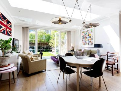 Photo for Immaculate & striking 5BR home in the heart of Fulham, close to Thames, by Veeve