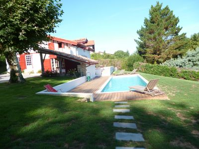 Photo for Rent House Arcangues comfortable with heated pool