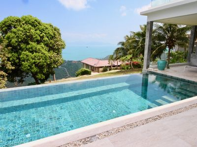 Photo for SeaView Baan Paradise, elegance and serenity just a step from beaches