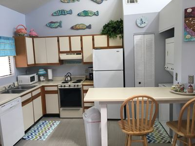 Photo for Super clean & cozy, only steps from beach; near Pier Park, shopping