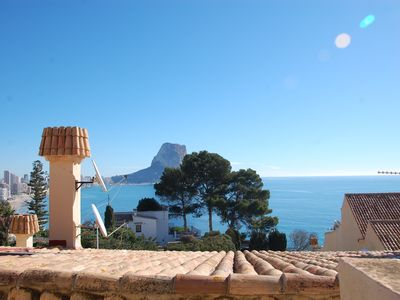 Photo for Duplex with wonderful views of the sea and the rock
