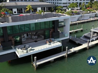 Photo for Sextant | ArkUp Floating Mansion | Docked in Brickell | 10 mins to Beach