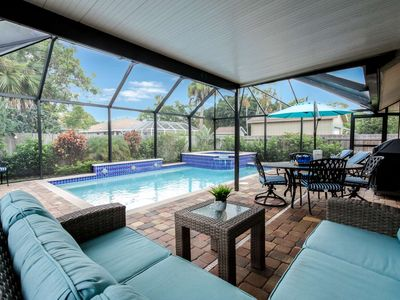 Photo for Naples Park Pool/Spa Home-Tropical Oasis-West of 41-close to beach,shopping & dining