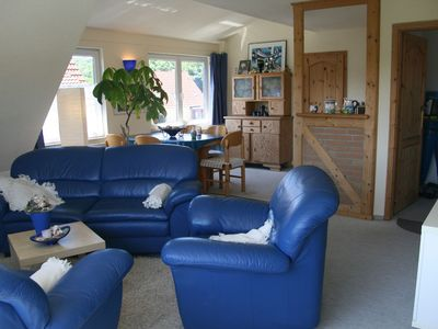 Photo for Guest apartment in the attic (70m², max 4 people) - apartments and bungalow Fritz Reuter Bad Doberan