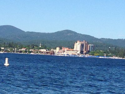Best View on CDA Lake Vacation Home with multiple watercraft available