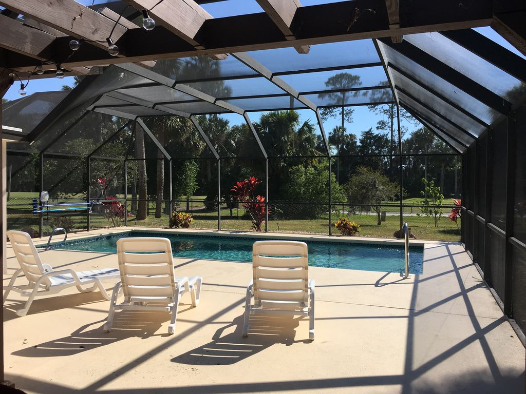 Golf Course Home With Heated Pool Close To Beach