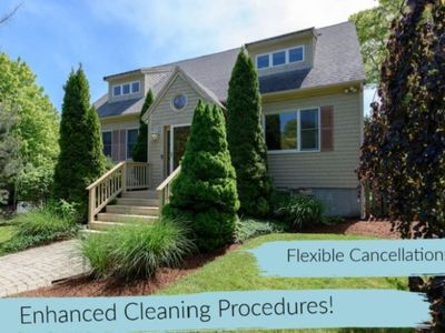 Photo for Luxury, 0.25mi to Craigville beach in Centerville, Ma on Cape Cod, Hot Tub,WiFi