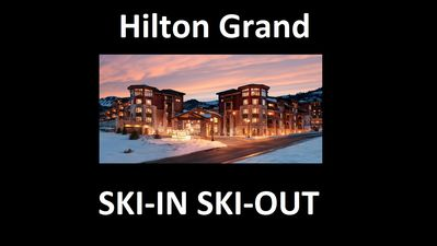 Photo for Hilton Sunrise Lodge Ski in Ski Out at the Canyons Village
