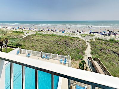 Photo for Updated Oceanfront Condo - 3 Bedrooms (4 beds)/3 bath Sleeps 8