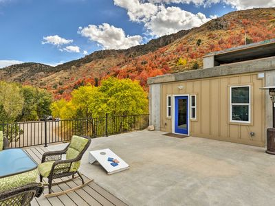 Photo for Lava Hot Springs Studio w/Deck - Mins to Hot Pools