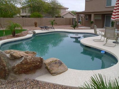 Photo for Lovely 3 Bedroom Home W/ Heated Pool, in Buckeye AZ