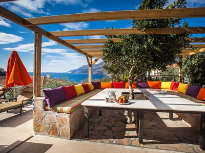 Photo for Villa Aphrodite, Kas Cukurbag, Peninsula, Turkey- Spacious and Stylish, Sea view