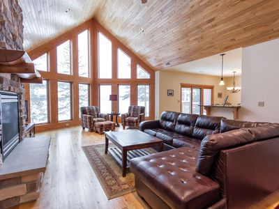 Photo for Beautiful Executive condominium on the Eagle River Chain of 28 Lakes