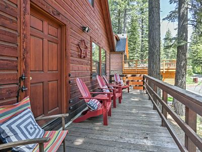 Photo for Rustic Tahoe City Cabin w/ Deck - Walk to Lake