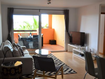 Photo for New Spacious Luxury 3 Bed 2 Bath apartment overlooking Mar Menor Golf Course