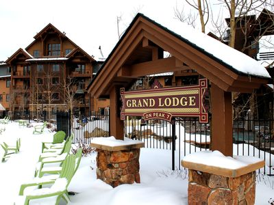 Photo for 1-BR Suite At The Grand Lodge On Peak 7