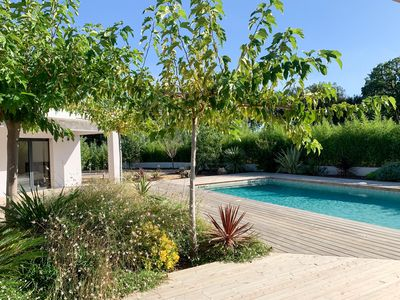 Photo for Villa Le Pin - Exceptional house with swimming pool
