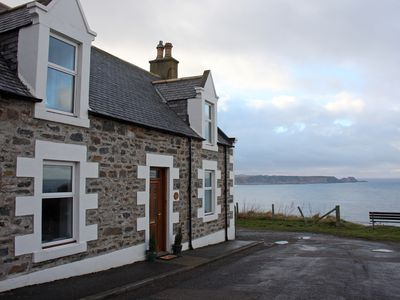Photo for Hill Crest - Seaside Clifftop Cottage - Panoramic Views of Fabulous Cullen Bay
