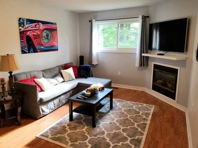 Photo for Stylish, Modern 2nd Floor Private Apt. In Quiet Area, Close To Lake Simcoe