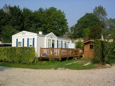 Photo for bungalow in camping in the countryside