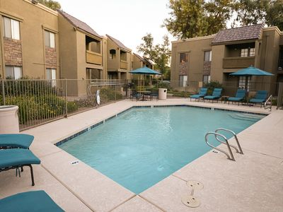Photo for *SANITIZED* FLASH SALE Traditional Touch Cozy 1 BR Condo/ COM Pool/ Jacuzzi/ Scottsdale