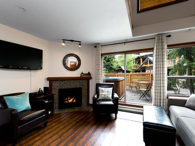 Photo for 121 Glaciers Reach a 2br with hot tub & pool in Whistler Village