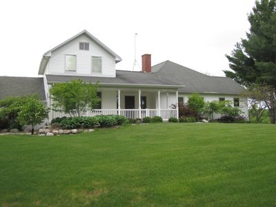 Photo for Spacious 3 bedroom 4 bathroom home near the manistee national forest