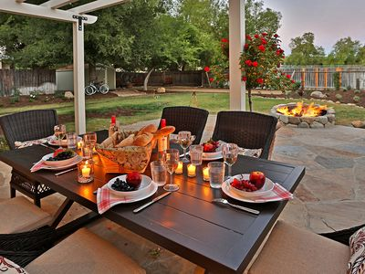 Photo for Wine Barrel Cottage - Graceful Charm and Fun in Los Olivos
