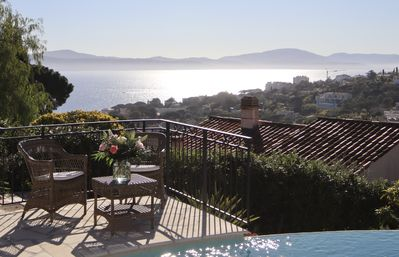 Photo for 5 stars luxury - fantastic ocean view (certified by 'Office de Tourisme')