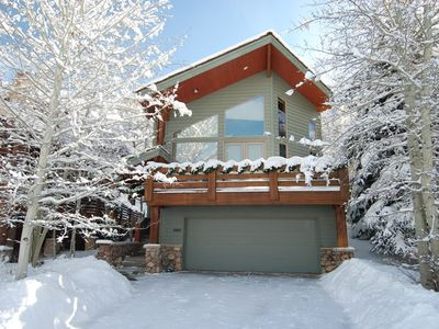 Photo for Cozy Mountain Home in Deer Valley's Snow Park Area w/ Private Hot Tub in Winter