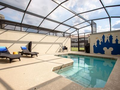 Photo for 4884 - 4 Bedroom Townhome with Private Pool and Mickey Themed Bedroom in the heart of it all!