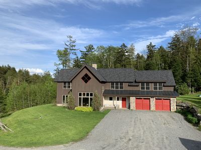 Photo for Premium Stowe Mountain Home on Sterling Brook - 9 Min to Town - Sleeps 16