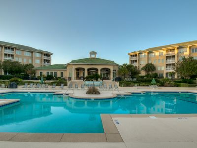 Photo for Edgewater, Waterfront, Barefoot Resort, Upscale Designer Condo, Fitness Ctr/W