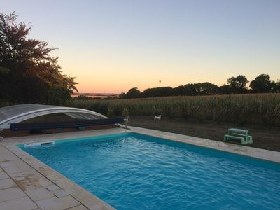 Photo for Large Villa with Pool in the heart of the Marais Poitevin