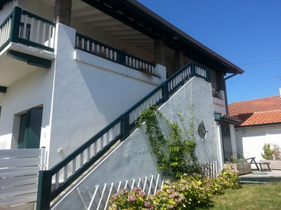 Photo for Pretty Basque house with private garden near center and beaches