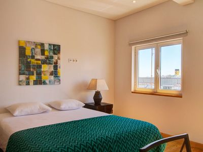 Photo for A new studio apartment with amazing views of the river Tagus.
