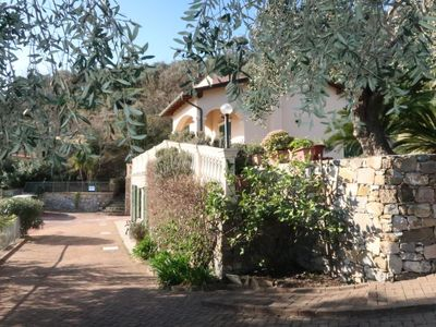 Photo for Civezza Apartment, Sleeps 8 with Pool and Free WiFi