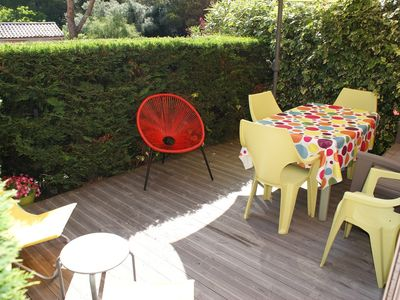 Photo for 2-ROOM APARTMENT ON GARDEN FLOOR WITH TERRACE IN SMALL RESIDENCE / 5 PERS.