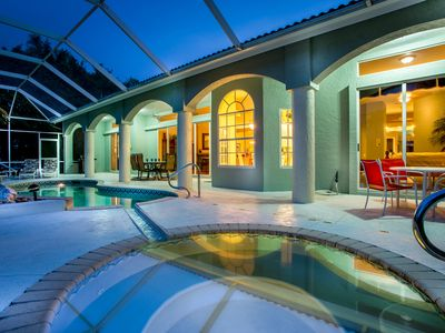 Photo for Beautiful 3 bedroom villa with amazing views over Cat Cay Lake!