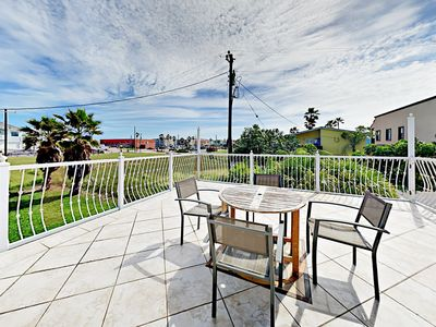 Photo for 200 Yards to the Beach! Chic 4BR w/ Gulf-View Balcony & Covered Patio