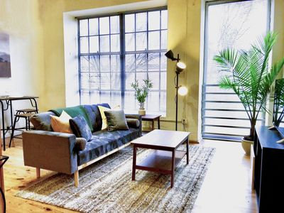 Photo for ~ Spacious Luxury Loft in Downtown Durham ~