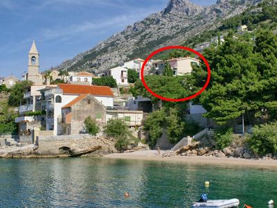 Photo for Apartment in Pisak (Omiš), capacity 4+1