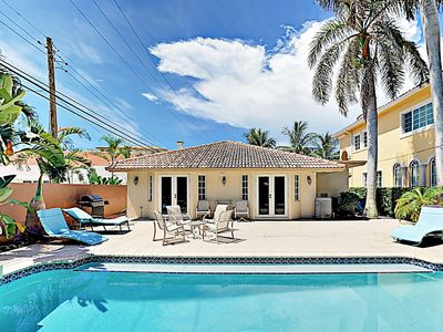 Photo for New Listing! Oceanside All-Suite Dream w/ Private Pool - 100 Yards to Beach